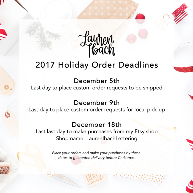 Holiday Deadlines Ads 1