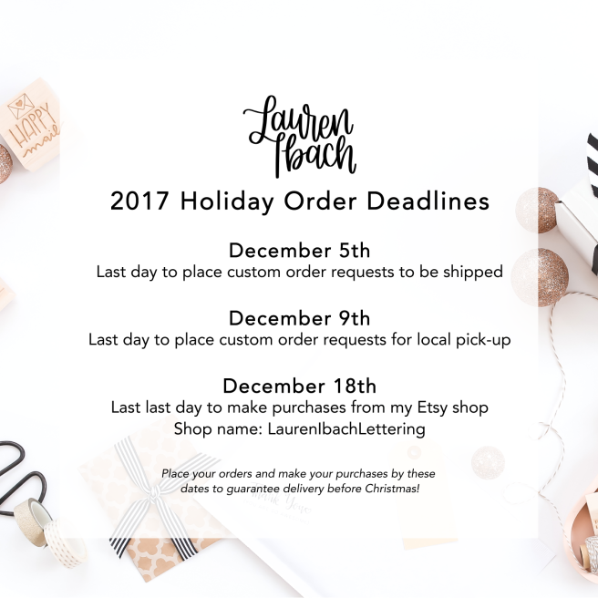Holiday Deadlines Ads 2